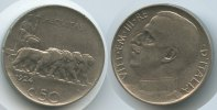 Italien 50 Centesimi Vittorio Emanuele III.1900-1946 Geriffelter Rand - Sehr Rar