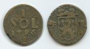 1 Sol  1795  Luxemburg Belagerung M#3066 - Luxemburg Belagerung 1 Sol ... 60,00 EUR  zzgl. 4,00 EUR Versand