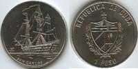 1 Peso 2008 Kuba M#5015 San Carlos Segelschiff unzirkuliert  10,00 EUR  zzgl. 4,00 EUR Versand