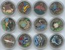 12 x 1 Peso Farbmünzen 1994-1996 Kuba Sammlung 12 Stück 1 Peso Fauna de... 100,00 EUR  zzgl. 4,00 EUR Versand