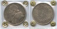 5 Lire 1870 Vatikan - Italien M#0020 - Pius IX. 1846-1878 Vorzüglich +  280,00 EUR  zzgl. 4,50 EUR Versand
