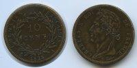 10 Centimes 1828 A Französische Kolonien - French Colonies M#3067 Charl... 55,00 EUR