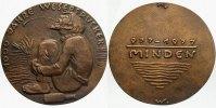 Bronzemedaille 1977 Minden-Stadt  Vorzügliches Exemplar  225,00 EUR  zzgl. 5,00 EUR Versand