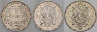 1 Mark 1882 G Kleinmünzen  Patina, vorzüglich - Stempelglanz  495,00 EUR kostenloser Versand