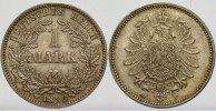 1 Mark 1886 F Kleinmünzen  Schöne Patina, fast Stempelglanz  325,00 EUR kostenloser Versand