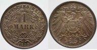 1 Mark 1893 F Kleinmünzen  Schöne Patina, Stempelglanz  495,00 EUR kostenloser Versand