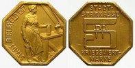 Goldabschlag zu 5 Pfennig 1917 Stadt Bielefeld Gold Bielefeld  prägefri... 7500,00 EUR kostenloser Versand
