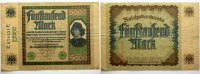 Banknoten nach Rosenberg 5000 Mark 16 