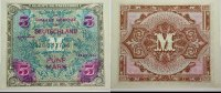 Banknoten nach Rosenberg 5 Mark Deutschland unter alliierter Besetzung 1945-1948