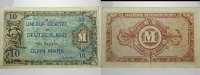 Banknoten nach Rosenberg 10 Mark Deutschland unter alliierter Besetzung 1945-1948