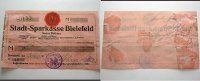 Bielefeld 5 Mark 03 002Stadt auf Stadtsparkasse Bielefeld 1914