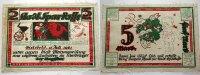 5 Mark 15.7.1921-1.10.1922 Bielefeld  A.D.Vs. Leicht verschmutz, leicht... 625,00 EUR kostenloser Versand