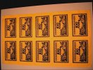 Originaldruckbogen zu 10 x 100 Mark 15.7.1921 Bielefeld  Kassenfrisch, ... 1975,00 EUR kostenloser Versand