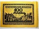 100 Mark 15.7.1921 Bielefeld  Kassenfrisch, unsauber geschnitten  395,00 EUR kostenloser Versand