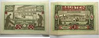 Notgeld der besonderen Art 50 Mark 1 Osterwiecker Ledergeld 1922/1923