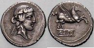 Denar. -90 Rom Republik Q. Titius, 90 v. Chr. Sehr schön +  225,00 EUR  zzgl. 5,00 EUR Versand