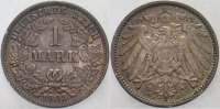 1 Mark 1905 J Kleinmünzen  Patina, fast Stempelglanz  325,00 EUR kostenloser Versand
