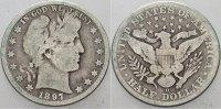 1/2 Dollar 1897 O Vereinigte Staaten von Amerika  Schön  275,00 EUR kostenloser Versand