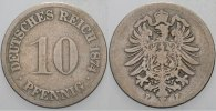 Kleinmnzen 10 Pfennig 