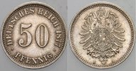 Kleinmnzen 50 Pfennig 