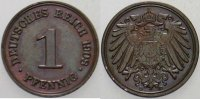Kleinmnzen 1 Pfennig 