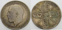 Großbritannien Florin/Two Shillings George V. 1910-1936.