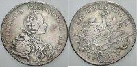 Reichstaler 1750 B - Breslau Brandenburg-Preußen Friedrich II. 1740-178... 215,00 EUR  zzgl. 5,00 EUR Versand