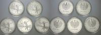 5 x 10 Euro 2009 A,D,F,G,J Deutschland  Polierte Platte  285,00 EUR kostenloser Versand