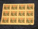 Originaldruckbogen zu 12 x 5000 Mark 15.2.1923 Bielefeld  Kassenfrisch,... 495,00 EUR