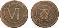 6 Kupferpfennig 1620 Bielefeld Ravensberg Georg Wilhelm von Brandenburg... 550,00 EUR kostenloser Versand