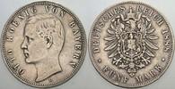 5 Mark 1888 D Bayern Otto 1886-1913 Winz. Randfehler, fast sehr schön  335,00 EUR kostenloser Versand