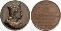 Bronzemedaille 1840 Frankreich CHILPERIC I...