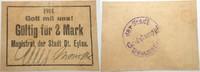 Gültig für 2 Mark 1914 Deutsch Eylau (vorm. Westpreussen) Magistrat der... 45,00 EUR  zzgl. 5,00 EUR Versand