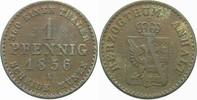 1 Pfennig 1856 A Anhalt-Dessau Leopold Friedrich 1817-1871. Schön - seh... 5,00 EUR  zzgl. 2,00 EUR Versand