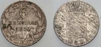 6 Kreuzer 1834 Nassau Wilhelm 1816-1839. Schön - sehr schön  8,00 EUR  zzgl. 2,00 EUR Versand