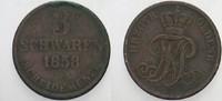 3 Schwaren 1858 Oldenburg Nicolaus Friedrich Peter 1853-1900. Schön - s... 5,00 EUR  zzgl. 2,00 EUR Versand