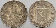 12 Grote 1840 Bremen  Schrötlingsfehler, sehr schön  15,00 EUR  zzgl. 2,00 EUR Versand