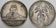 versilberte Bronzemedaille 1913 Sachsen-Leipzig, Stadt  Randfehler, seh... 20,00 EUR  zzgl. 2,00 EUR Versand