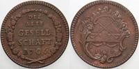 Kupfer Spielmarke 1777 Frankfurt-Stadt  Sehr schön  25,00 EUR  zzgl. 5,00 EUR Versand