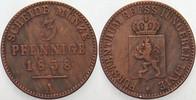 3 Pfennige 1858 A Reuss-jüngere Linie zu Schleiz Heinrich LXVII. 1854-1... 10,00 EUR  zzgl. 2,50 EUR Versand