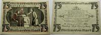 Das Papiernotgeld von Westfalen 75 Milliarden Mark LANDKREIS BIELEFELD