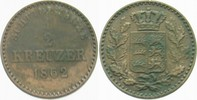 1/2 Kreuzer 1862 Württemberg Wilhelm I. 1816-1864. Sehr schön  5,00 EUR  zzgl. 3,00 EUR Versand