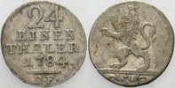 1/24Taler 1784 DF Hessen-Kassel Friedrich II. 1760-1785. Fast sehr schön  15,00 EUR  zzgl. 3,00 EUR Versand