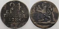 1/24Taler 1786 DF Hessen-Kassel Wilhelm IX. 1785-1803. Schön - sehr sch... 10,00 EUR  zzgl. 3,00 EUR Versand