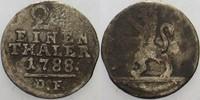 1/24Taler 1788 DF Hessen-Kassel Wilhelm IX. 1785-1803. Schön - sehr sch... 10,00 EUR  zzgl. 3,00 EUR Versand