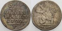 1/24Taler 1799 F Hessen-Kassel Wilhelm IX. 1785-1803. Sehr schön  15,00 EUR  zzgl. 3,00 EUR Versand