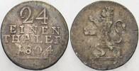 1/24 Taler 1804 F Hessen-Kassel Wilhelm I. 1785-1821. Schön - sehr schö... 18,00 EUR  zzgl. 3,00 EUR Versand