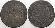 4 Mariengroschen 1766 BS Detmold Lippe-Detmold, Simon August, 1734-1782... 25,00 EUR  zzgl. 5,00 EUR Versand