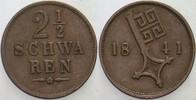 2 1/2 Schwaren 1841 Bremen  Sehr schön  6,00 EUR  zzgl. 3,00 EUR Versand