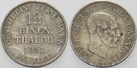 1/12 Taler 1851 B Hannover Ernst August 1837-1851. Fast sehr schön  8,00 EUR  zzgl. 3,00 EUR Versand